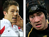 Jonny Wilkinson and Danny Cipriani