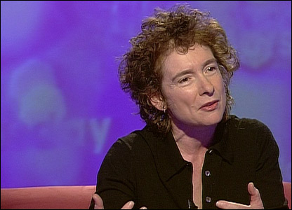 Jeanette Winterson, from her appearance in May 2004