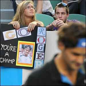 Roger Federer's fans
