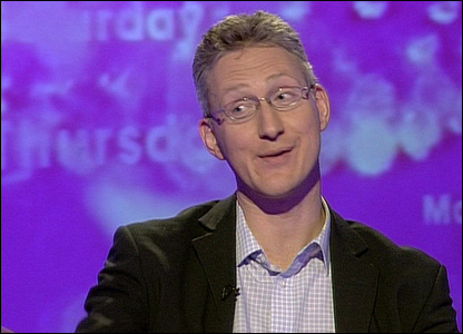 Lembit Opk in his 2006 appearance on the show
