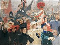 Ilya Repin painting