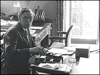 Anthony Blunt at his desk