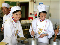 Chinese chefs at Hastings College