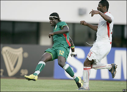 Sall equalises for Senegal