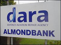DARA sign