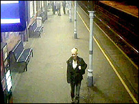 CCTV footage of Anneli Alderton at Ipswich Railway Station
