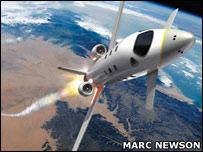 Astrium space plane (EADS Astrium)