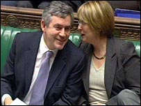 Gordon Brown and Jacqui Smith