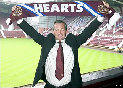 George Burley presented as Hearts boss