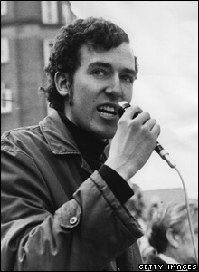 Peter Hain, the leader of the Young Liberals, 1970