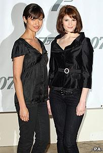 Olga Kurylenko and Gemma Artherton