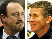 Rafael Benitez and Shaun Gale