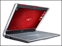 "Dell and Microsoft ""Red"" laptop"