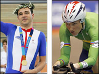 Darren Kenny and Sarah Storey