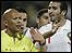 اعتراض من لاعبي المغرب على الحكم