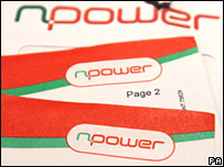 Npower energy bill