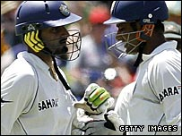 Harbhajan Singh and Anil Kumble