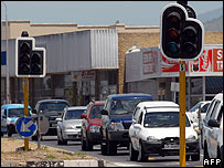 Traffic lights not working in Cape Town 21 January 2008