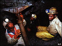South African gold miners