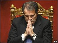 Romano Prodi24/1/08