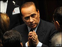 Silvio Berlusconi 24/1/08