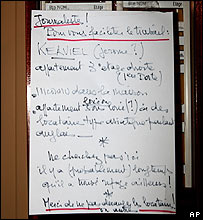 Jerome Kerviel's mailbox 25 January
