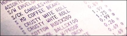 Till receipt