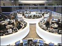 German trading floor