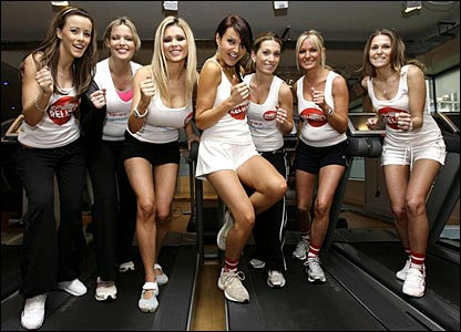 Nicola T, Jadene Bircham, Nicola McLean, Lizzie Cundy, Melissa Johnson, Alex Best and Jude Cisse