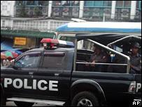 Burmese police (October 2007)