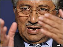 Pakistani President Pervez Musharraf (24 January)