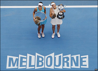 Ana Ivanovic and Maria Sharapova