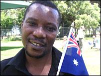 Mugoni Katsande from Zimbabwe