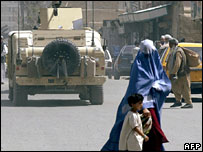 The city of Kandahar in southern Afghanistan (file)