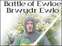 Battle of Ewloe plaque