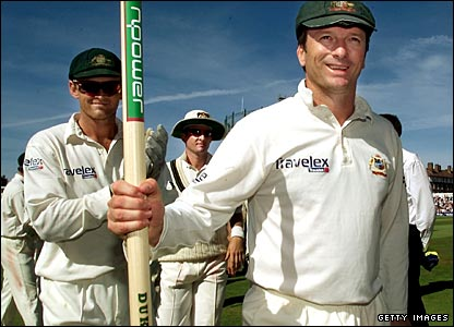 Ashes winners 2001
