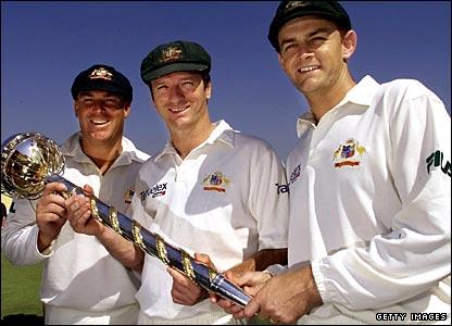 Test trophy holders 2001