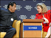 India's commerce minister Kamal Nath and US Trade Representative Susan Schwab