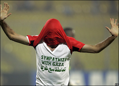 Aboutrika celebrates making it 2-0