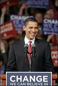 Barack Obama en Carolina del Sur el 26 de enero