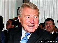 Paddy Ashdown in December 2007