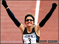 Mara Yamauchi wins the Osaka marathon