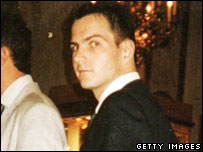 Jerome Kerviel, pictured at a wedding in Paris