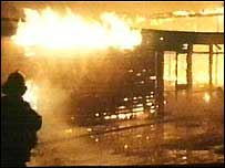 Twelve people were killed and many more badly burned on 17 February 1978