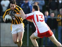 Action from the All-Ireland quarter-final