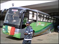 Senegal team coach stuck in Tamale
