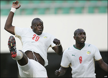 Faye scores for Senegal