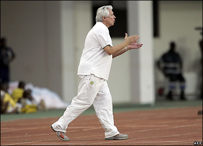 Senegal coach Henri Kasperczak