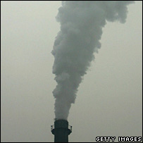 smokestack in Beijing