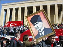 Mausoleum of Mustafa Kemal Ataturk, file photo November 2007